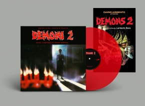 SIMON BOSWELL Demons [2] Original Soundtrack LP RED VINYL 2019 LTD.200