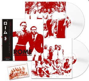 ROME Flowers from Exile (JAPAN Edition) 2LP WHITE VINYL 2019 LTD.500 (VÖ 30.08)
