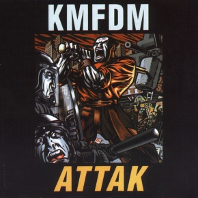 KMFDM Attak CD 2002