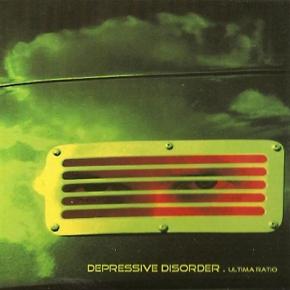 DEPRESSIVE DISORDER ultima ratio CD Digipack 2005 LTD.500