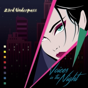 23rd UNDERPASS Voices in the Night / Faces 2CD Digipack 2019 LTD.200