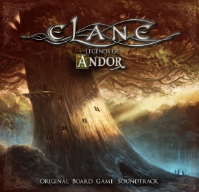 ELANE Legends Of Andor (Original Board Game Soundtrack) CD 2019