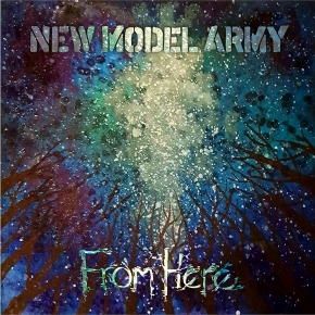 NEW MODEL ARMY From Here CD Hardcover Mediabook 2019