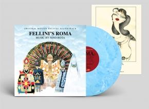 NINO ROTA Fellini's ROMA O.S.T. LIMITED LP BLUE VINYL 2019