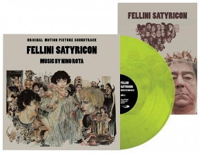 NINO ROTA Fellini Satyricon - Original Motion Picture Soundtrack LIMITED LP VINYL 2016