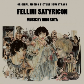 NINO ROTA Fellini Satyricon - Original Motion Picture Soundtrack CD Digipack 2016