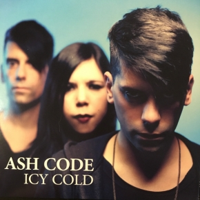 "ASH CODE Icy Cold 7"" WHITE VINYL 2017 LTD.500"