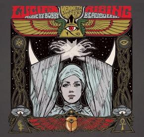 BOBBY BEAUSOLEIL Lucifer Rising O.S.T. LP RED/black marbled VINYL 2019 LTD.499