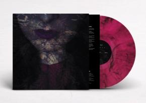 HANTE Fierce [limited half BLACK marble/half MAGENTA] LP VINYL 2019