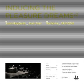 JUSTO BAGÜESTE & SUSO SAIZ Inducing the Pleasure Dreams v2 LP VINYL 2020 LTD.500 (VÖ 10.01)