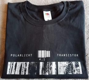 POLARLICHT 4.1 / TRANSISTOR Logo T-SHIRT M