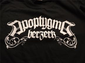 APOPTYGMA BERZERK Logo White T-SHIRT