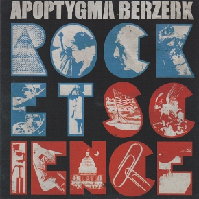 APOPTYGMA BERZERK Rocket Science LP TURQUOISE VINYL 2020 LTD.700