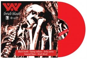 WUMPSCUT Dried Blood & Gomorra LP RED VINYL 2021 LTD.300 (VÖ 16.04)