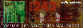FRONT 242 91 (Live in EU) LIMITED 2LP COLOR VINYL BOX 2021