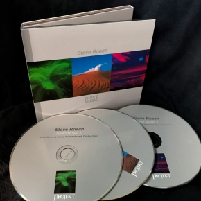 STEVE ROACH Quiet Music (35th Anniversary Remastered 3-Hour Collection) 3CD Digipack 2021