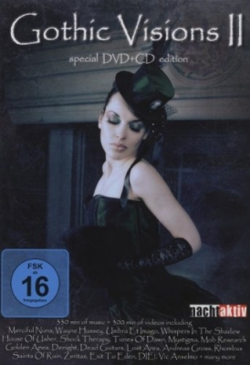 GOTHIC VISIONS VOL.2 DVD+CD 2010 Merciful Nuns UMBRA ET IMAGO