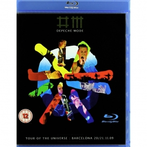 DEPECHE MODE Tour of the Universe, Barcelona 2 BLU-RAY 2010
