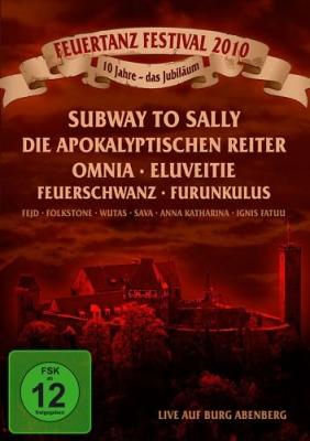 FEUERTANZ FESTIVAL 2010 DVD Omnia SUBWAY TO SALLY Feuerschwanz