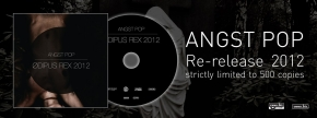 ANGST POP Odipus Rex 2012 CD LTD.500 APOPTYGMA BERZERK
