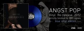 "ANGST POP Odipus Rex 2012 12"" BLUE VINYL 2012 LTD.300 (APOPTYGMA BERZERK)"