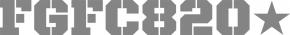 "FGFC820 ""Logo 2012 [medium]"" (NoiTekk) AUFKLEBER"