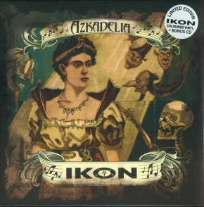 "IKON Azkadelia CD+7"" CLEAR VINYL LTD.300"