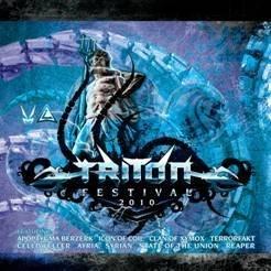 TRITON FESTIVAL 2010 CD Clan Of Xymox APOPTYGMA BERZERK