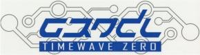 GRENDEL Timewave Zero AUFKLEBER 21 x 7 cm