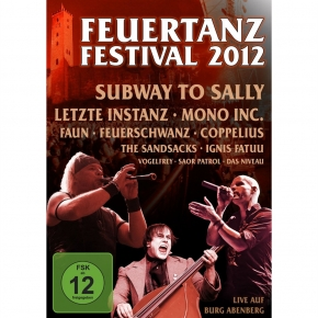 FEUERTANZ FESTIVAL 2012 DVD Saor Patrol MONO INC. Subway To Sally FAUN