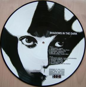 """SHADOWS IN THE DARK 12"""" PICTURE VINYL LTD.500 Darkmen NTRSN"""