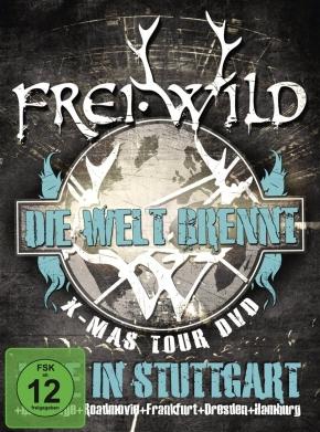 FREI.WILD Die Welt Brennt - Live In Stuttgart 2DVD 2012