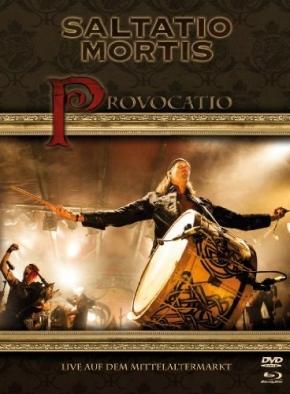 SALTATIO MORTIS Provocatio: Live auf dem Mittelaltermarkt BLU-RAY+2DVD DigiBook 2013